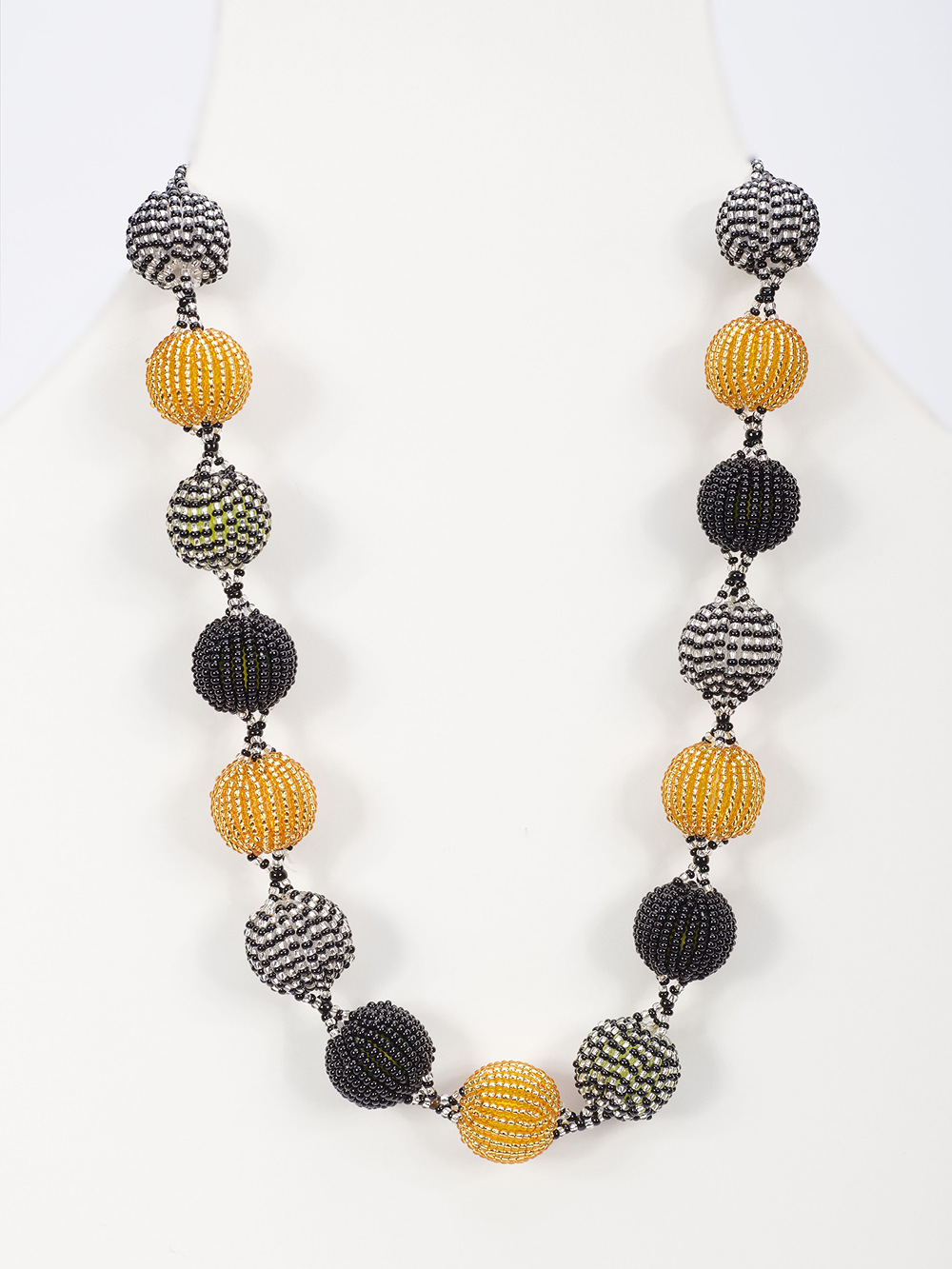 african beaded bobble necklace the african collection
