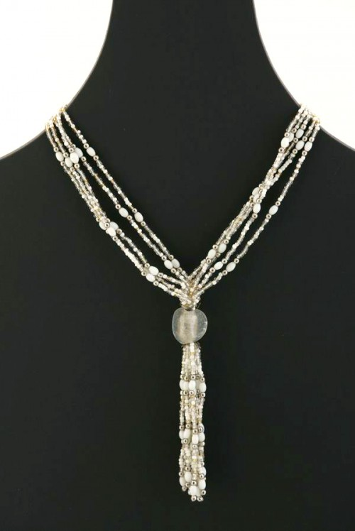 Opera Glass Bead Necklace