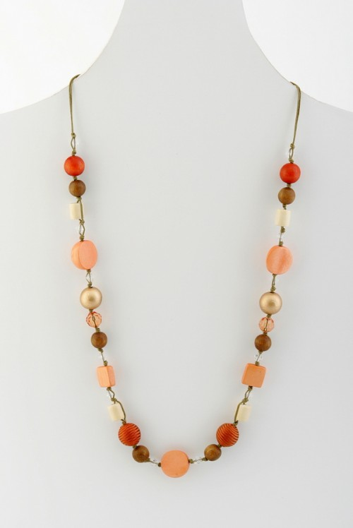 Beaded Necklace (N9193)