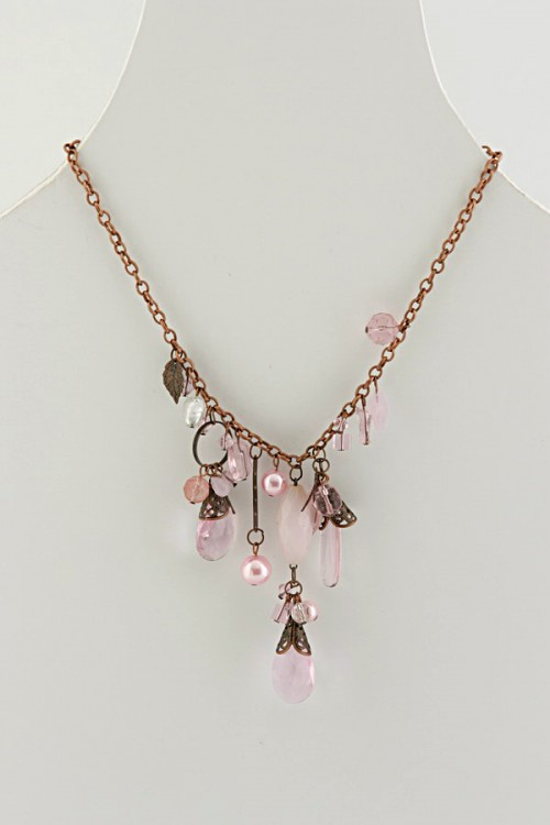 Metal Chain Necklace (N-388)