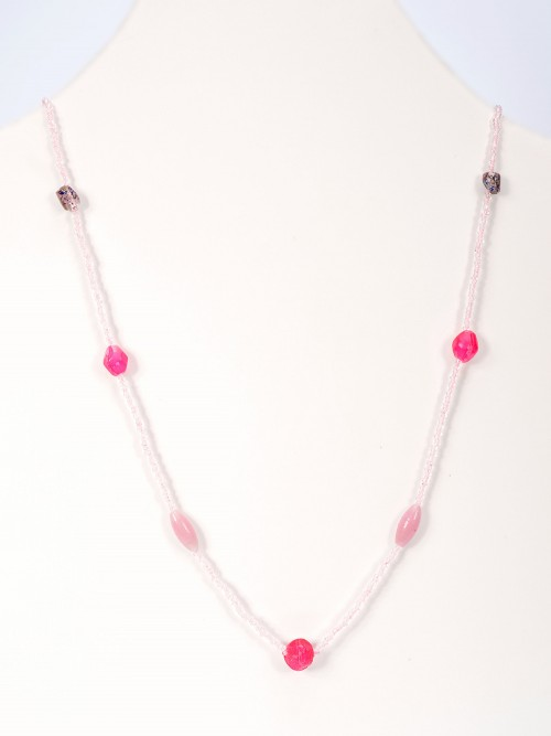 Seed Bead Necklace (N-425)