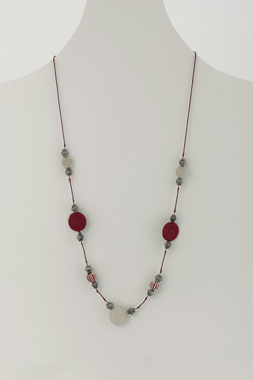 Long Woven Necklace DNT8