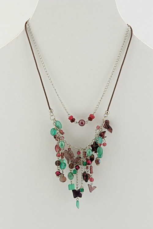 Handmade Necklacebutterfly-dnf13